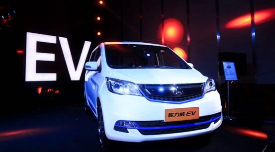 长乐新驱 领尚未来 长安欧力威EV抢滩登陆新能源车市场-汽车氪