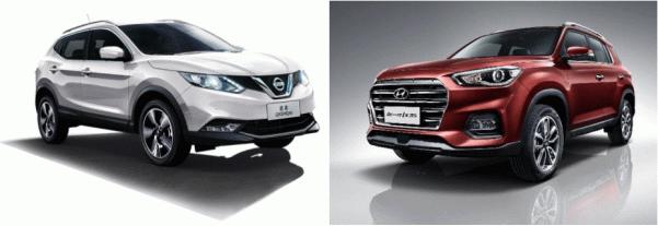 新一代ix35对比日产逍客 谁才是最具性价比的合资SUV