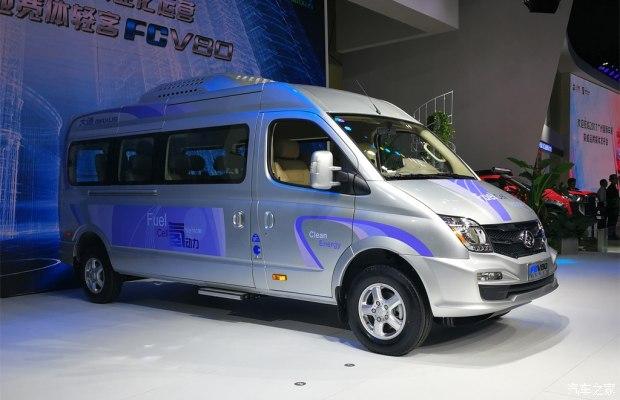 大通V80燃料电池车上市 补贴后售价30万-汽车氪