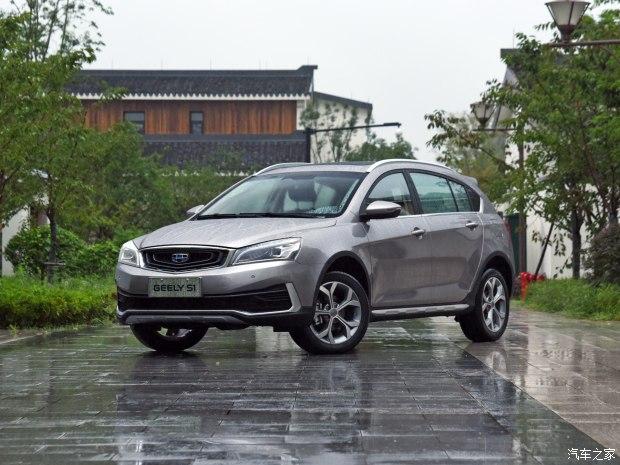 吉利汽车 吉利S1 2018款 1.4T CVT锋睿型