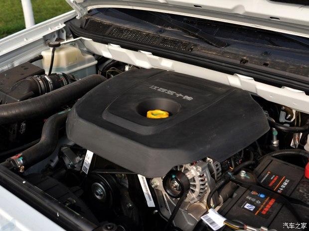江西五十铃 瑞迈 2018款 2.5T两驱柴油豪华款加长货箱JE4D25Q5A