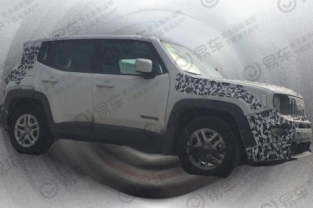 广汽Jeep新款自由侠谍照曝光 与海外版相同/或2019年夏季上市