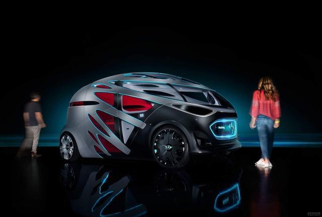 奔驰发布Vision Urbanetic纯电动概念车