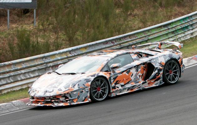 兰博基尼Aventador SVJ或将成为纽博格林最快量产车