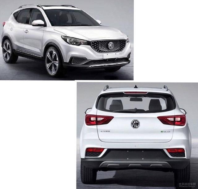名爵EZS小型纯电动SUV 预计在年内发布