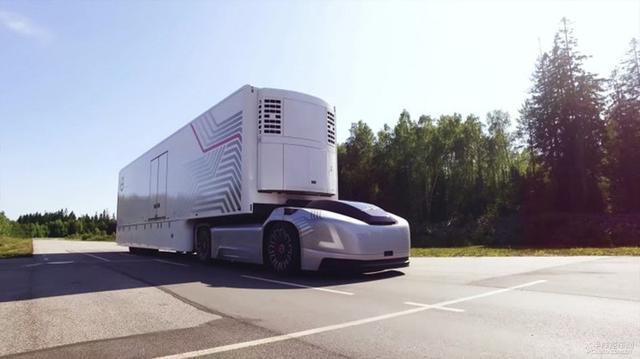 沃尔沃新动作:自动驾驶电动卡车Vera