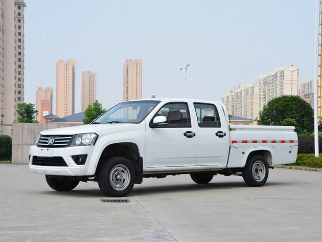 新款骐铃T100柴油版上市 售7.18-7.78万/8款车型