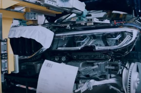 新一代宝马3系更多预告 巴黎车展首发