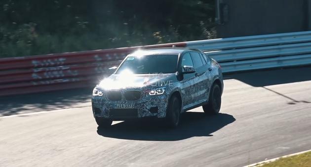 最新宝马X4 M车型路试谍照曝光 进气增大/动力提升