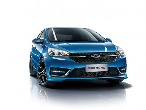 A级新能源轿车的全新力作  艾瑞泽 5e 450  11月即将上市