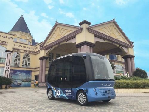 今年国庆不一样,景区游览开启新模式——无人驾驶巴士带你看风景