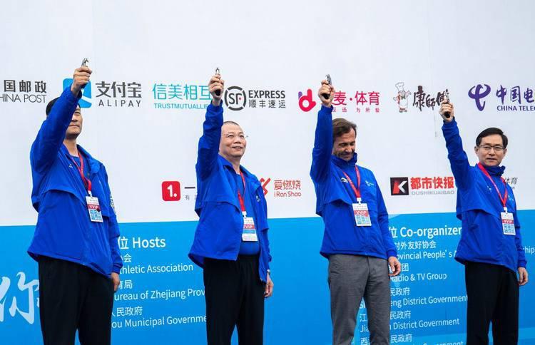 为梦加速 由我领跑 广汽HONDA·2018杭州马拉松完美落幕
