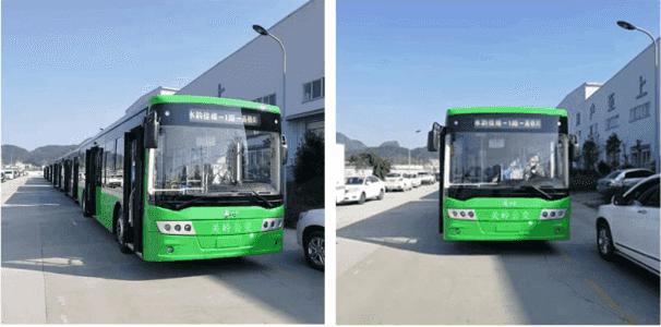 贵州长江汽车全铝纯电动客车成功交付开启电动客车新篇章