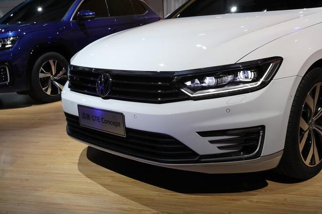 一汽-大众迈腾GTE概念车已正式首发