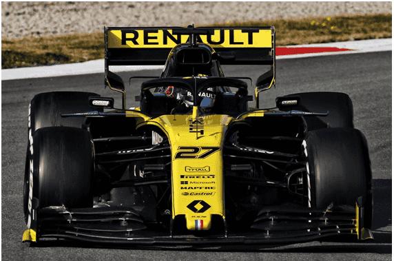 雷诺F1车队季前测试第一周