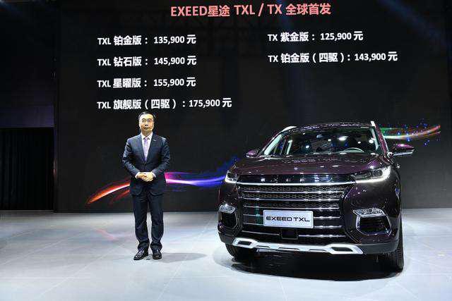 超越想象!上海車展EXEED星途TXL/TX火爆上市