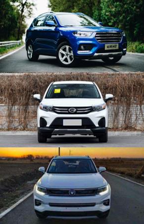 小型SUV国产更受欢迎 7万级SUV到底选谁?
