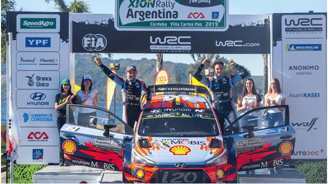 N系列WRC、WTCR、TCR三线赛事全满冠 北京现代高性能车赢期待