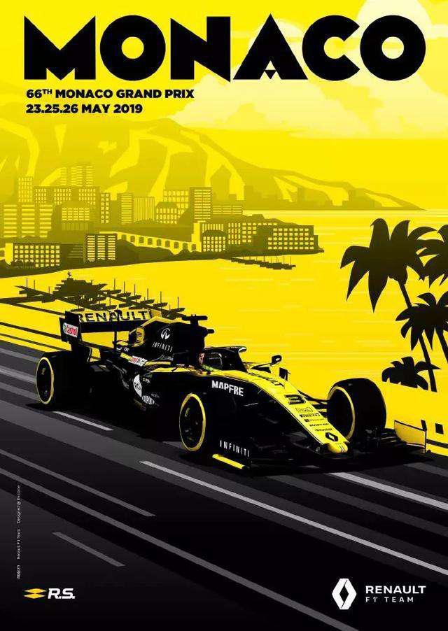 雷诺F1车队本周末征战摩纳哥