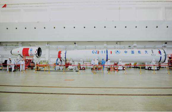WEY品牌LOGO荣登国家级火箭,CZ-11 WEY号即将开创中国航天历史