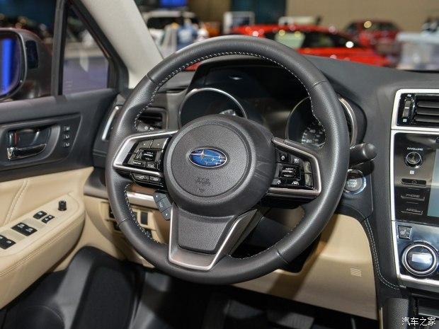 斯巴鲁新款力狮首发 2017芝加哥车展-汽车氪