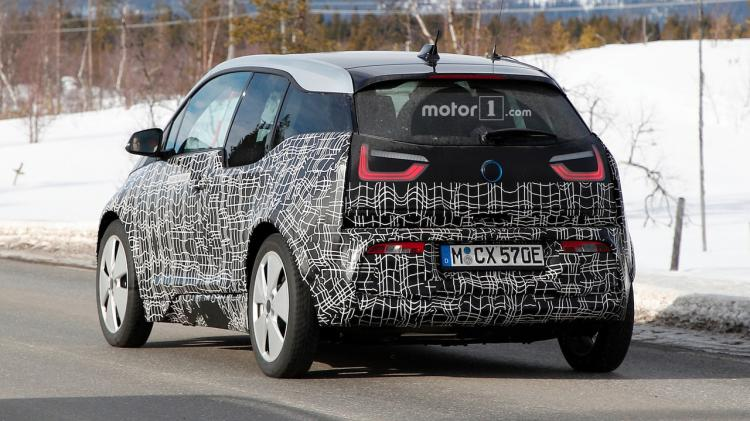 宝马酝酿升级 i3 性能对标Model 3 抢先预览 i3S 运动版-汽车氪