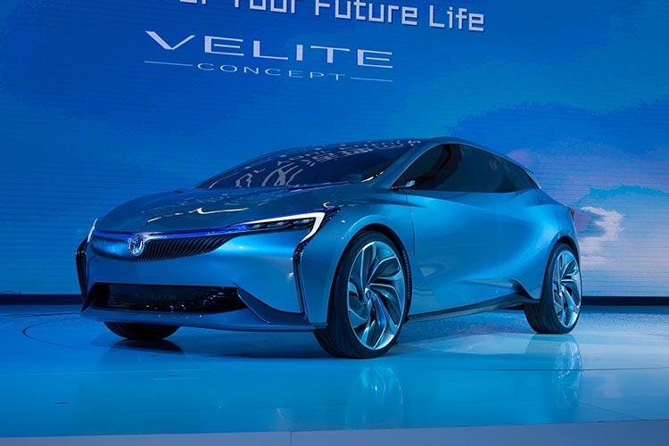 别克Velite 5插电式混动车最快年内上市-汽车氪
