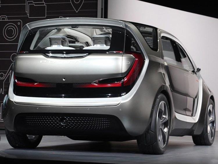 对开式侧滑车门设计 克莱斯勒Portal概念MPV车型首发-车神网