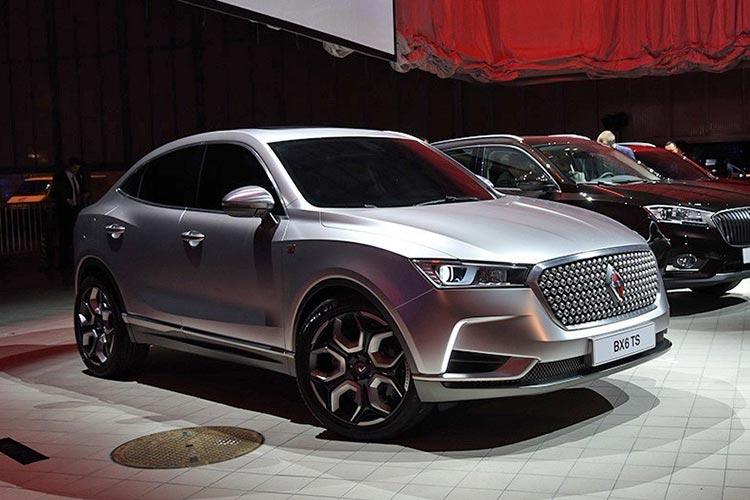 最大续航250km 宝沃BX7中型纯电动SUV将于年内上市-车神网