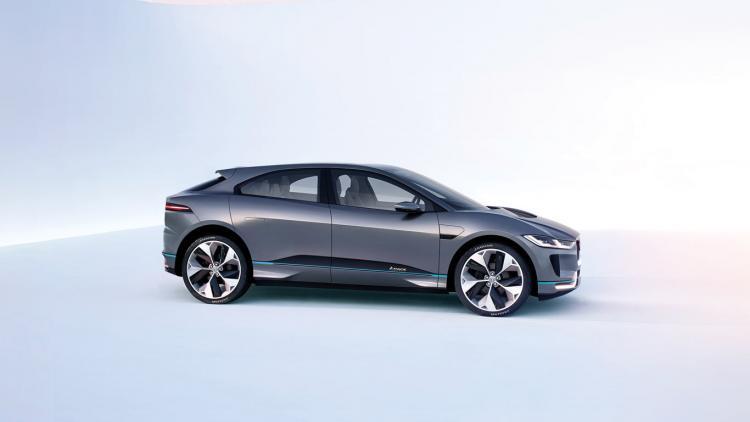 捷豹 I-PACE 将成为日内瓦车展重磅新能源车 多图抢先预览-车神网