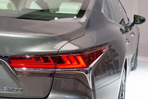 雷克萨斯全新一代LS,焕然一新的日系旗舰归来-车神网