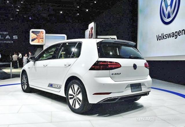 大众e-Golf成为大众首款国产新能源车-车神网
