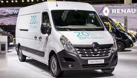 雷诺推新款Kangoo ZE和Master ZE电动商用车-汽车氪