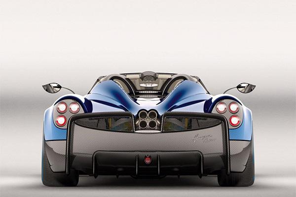 帕加尼Huayra Roadster即将亮相日内瓦车展-汽车氪