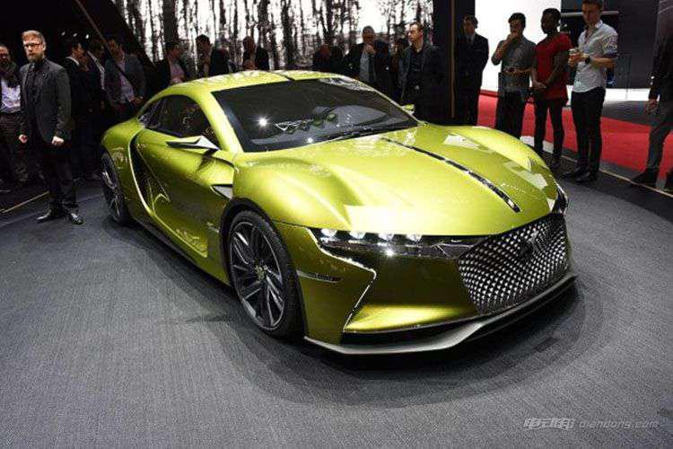 瞄准宝马i8 DS有望推出混合动力跑车-汽车氪