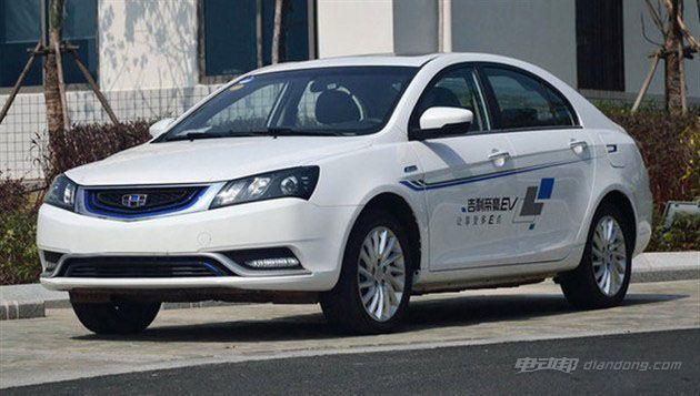 吉利帝豪EV300今日上市 补贴后或将13.98万起售-汽车氪