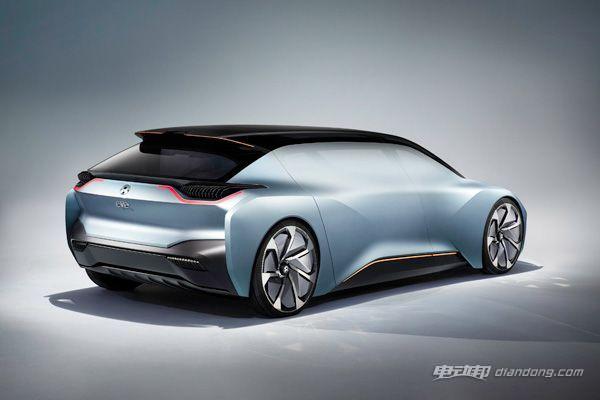 上海车展量产车型亮相 蔚来发布EVE概念车-汽车氪