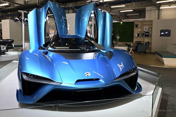 上海车展将亮相 蔚来ep9更多国内实车照片-汽车氪