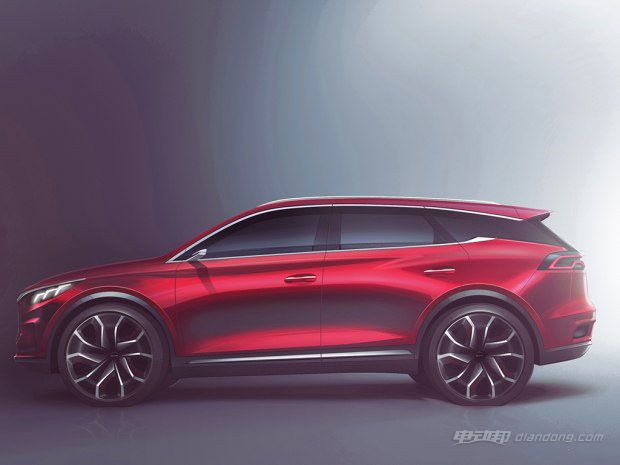 颜值爆表 比亚迪官方王朝概念车最新预告图-汽车氪