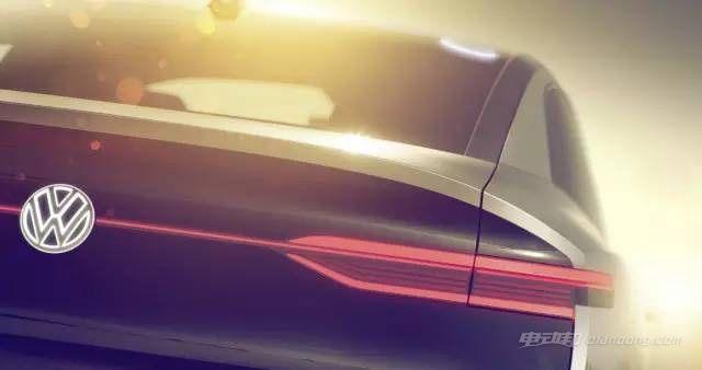 大众I.D.概念车预告图 风骚的纯电动跨界SUV-车神网