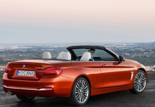 宝马正式发布了4系家族中期改款车型的官图-汽车氪
