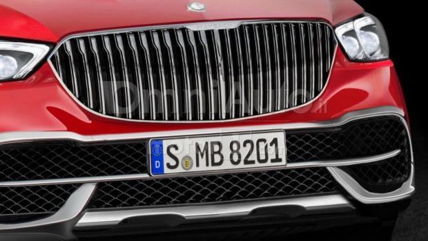 或搭V8发动机 迈巴赫全新SUV假想图-汽车氪