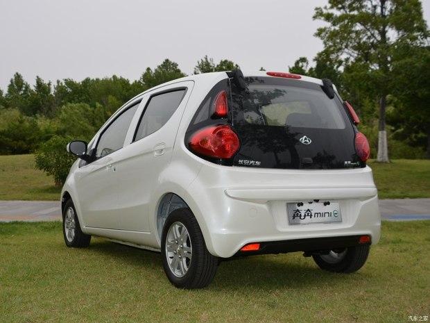 售4.68-4.98万元 长安奔奔mini-e上市-汽车氪