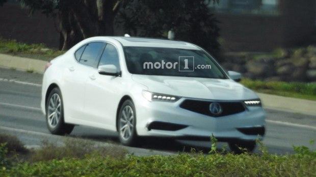 4月纽约车展首发 讴歌新款TLX预告图-汽车氪