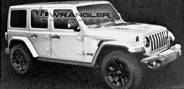 风格变化不大 Jeep新牧马人官方效果图-汽车氪