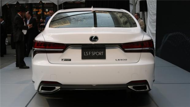 3.5T V6 雷克萨斯LS 500 F Spor亮相纽约车展-汽车氪
