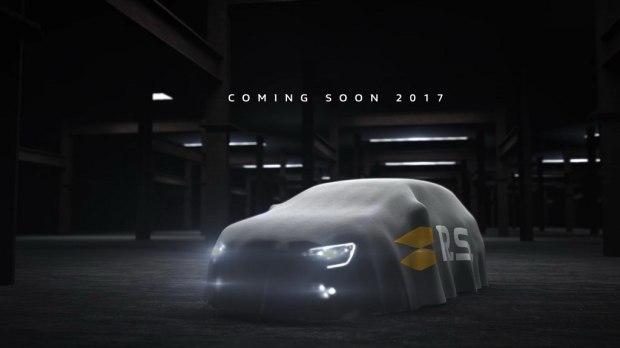 9月亮相 全新一代梅甘娜R.S.预告图-汽车氪