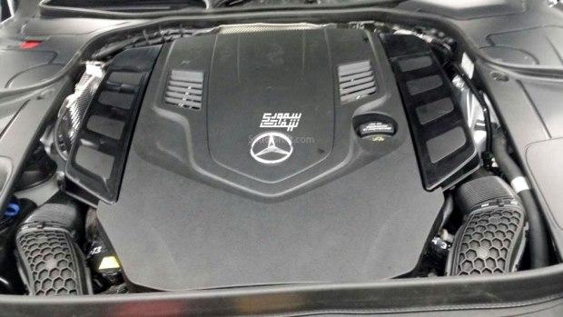 新增S 560/4月首发 奔驰新款S级谍照-汽车氪