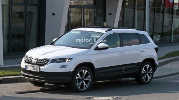 5月18日首发 斯柯达全新紧凑型SUV谍照-汽车氪