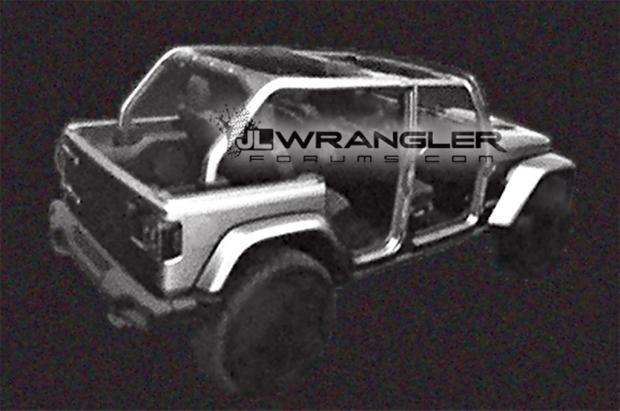 风格变化不大 Jeep新牧马人官方效果图-车神网